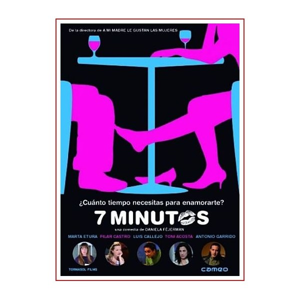 7 MINUTOS DVD 2009 CINE ESPAÑOL Dirigida por Daniela Féjerman
