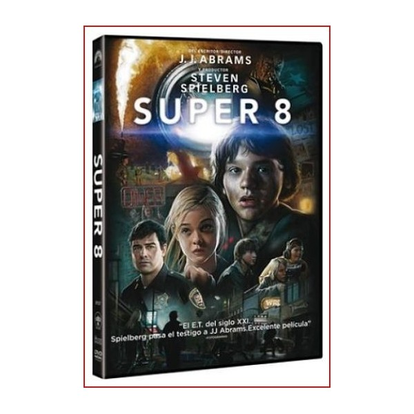 SUPER 8 DVD 2011 Extraterrestres Dirección J.J. Abrams