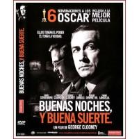 BUENAS NOCHES Y BUENA SUERTE DVD 2005 Dirección George Clooney