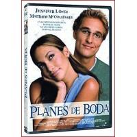 PLANES DE BODA DVD 2001 Comedia Dirección Adam Shankman