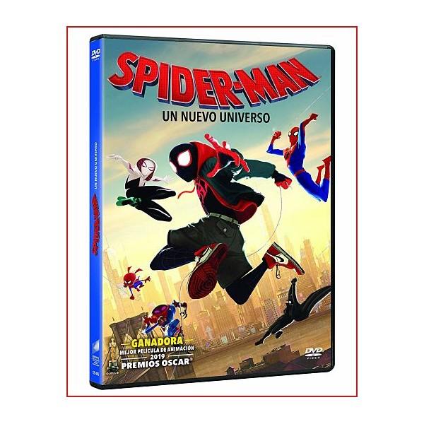 SPIDERMAN UN NUEVO UNIVERSO DVD 2018 Dir. Bob Persichetti