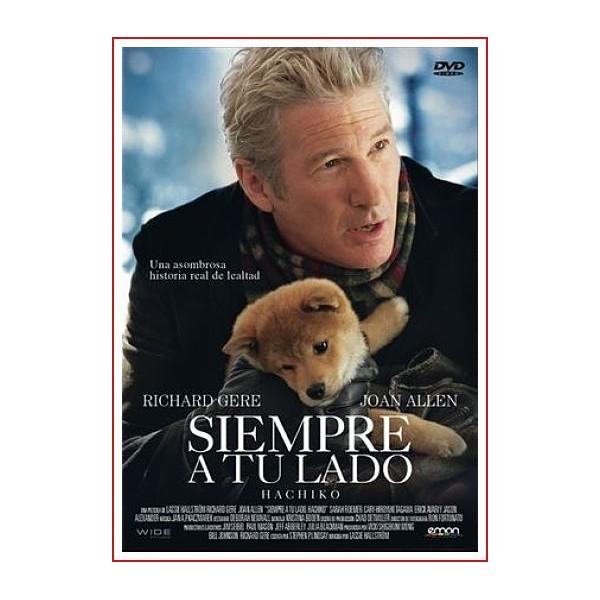 SIEMPRE A TU LADO, HACHIKO DVD 2009 Dirección Lasse Hallström