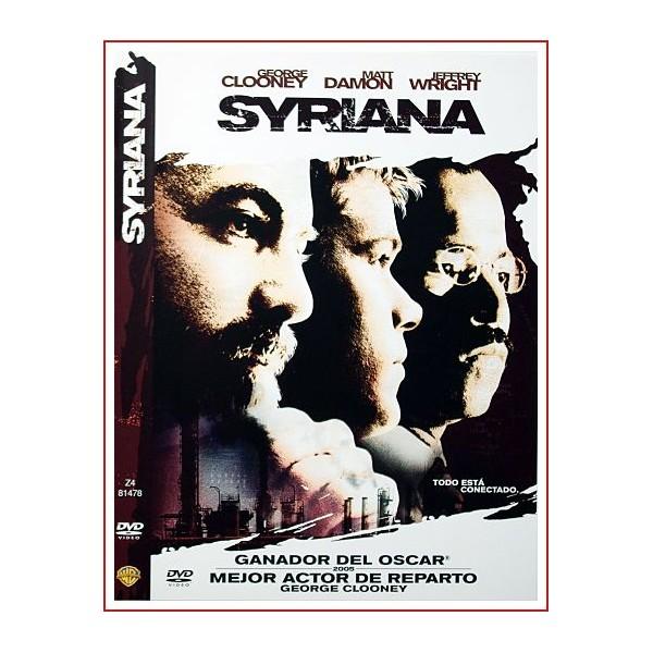 SYRIANA DVD 2005 Dirección Stephen Gaghan