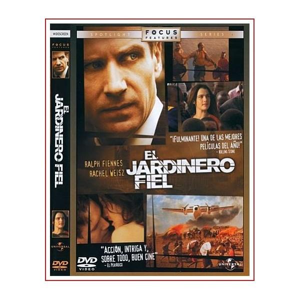 EL JARDINERO FIEL DVD 2005 Dirección Fernando Meirelles
