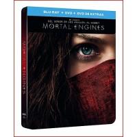 MORTAL ENGINES BD + DVD + DVD EXTRAS