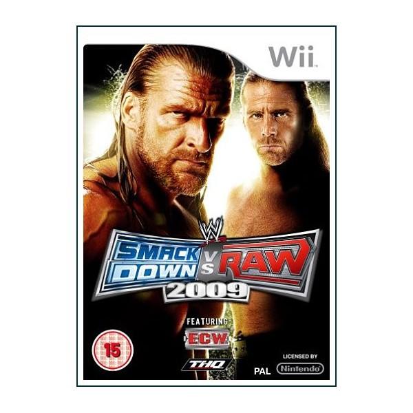 WWE SMACKDOWN VS RAW WII 2008