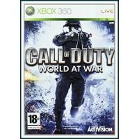 CARATULA CALL OF DUTY 5 WORLD AT WAR PARA XBOX 360