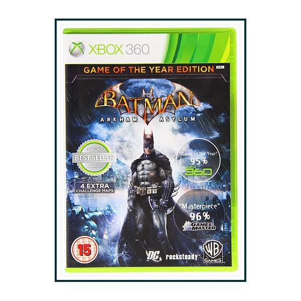 BATMAN ARKHAM ASYLUM Video Juegos XBOX 360
