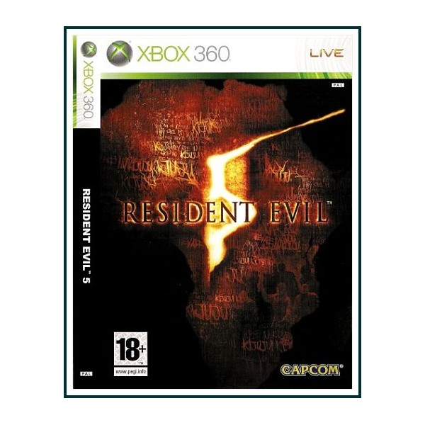 RESIDENT EVIL 5 XBOX 360 2009