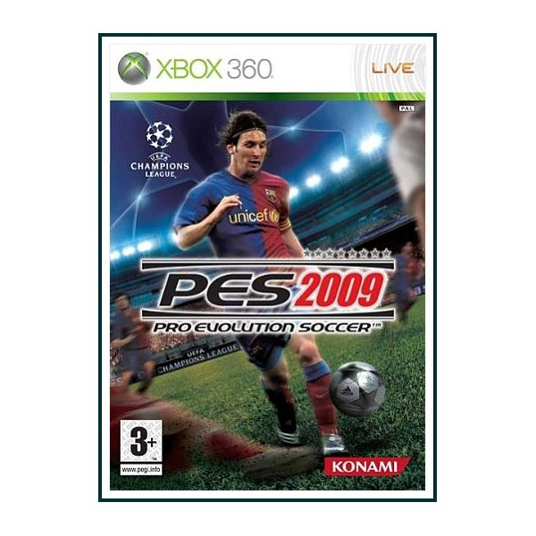 PES 2009 PRO EVOLUTION SOCCER XBOX 360