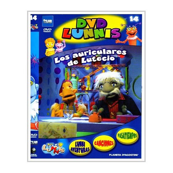 LOS LUNNIS LOS AURICULARES DE LUTECIO (Dvd infantil) Dir.Eladio Jareño
