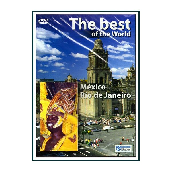 THE BEST OF THE WORLD LO MEJOR DEL MUNDO MÉXICO RÍO DE JANEIRO DVD 2009