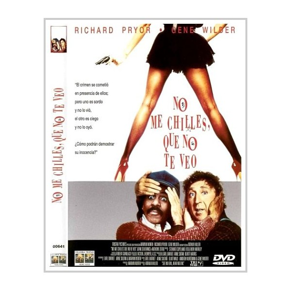 NO ME CHILLES QUE O TE OIGO (See No Evil, Hear No Evil) DVD 1989
