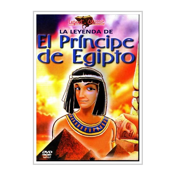 LA LEYEDA DEL PRINCIPE DE EGIPTO DVD 1999