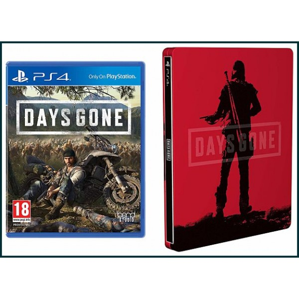 DAYS GONE Y STEELBOOK PS4 PS4 2019
