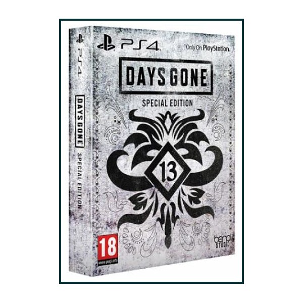 DAYS GONE EDICIÓN ESPECIAL PS4 2019