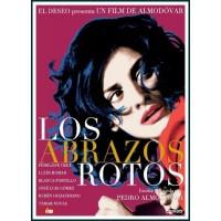 LOS ABRAZOS ROTOS DVD 2009 CINE ESPAÑOL Dirección Pedro Almodóvar