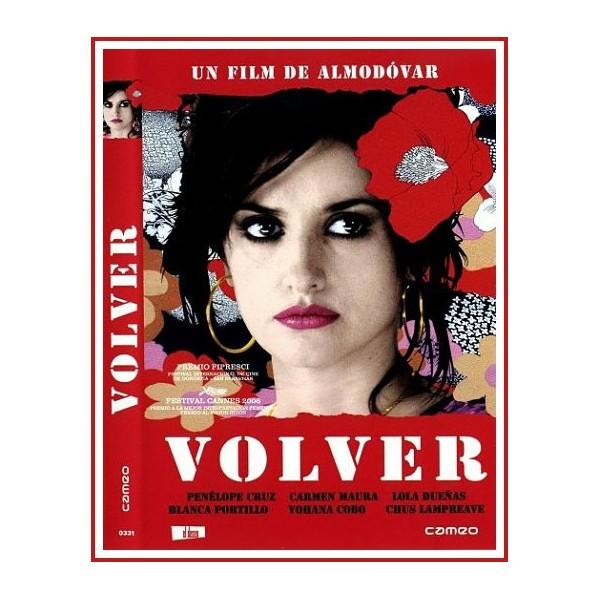 VOLVER DVD 2006 Cine Español Dirección Pedro Almodóvar