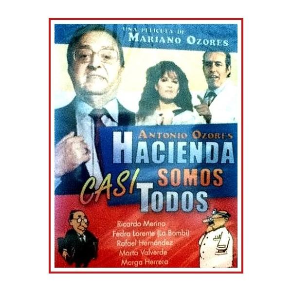 HACIENDA SOMOS CASI TODOS DVD 1988 Dirigida por Mariano Ozores
