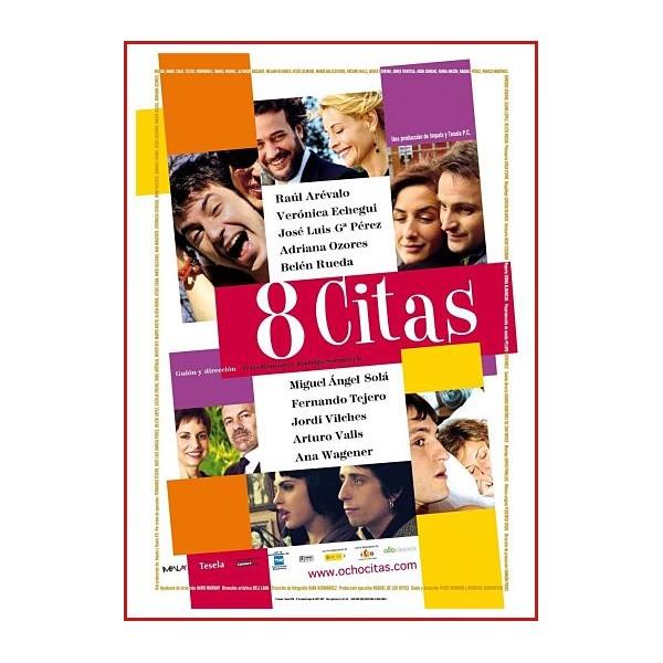 8 CITAS DVD 2008 CINE ESPAÑOL Dirección Peris Romano