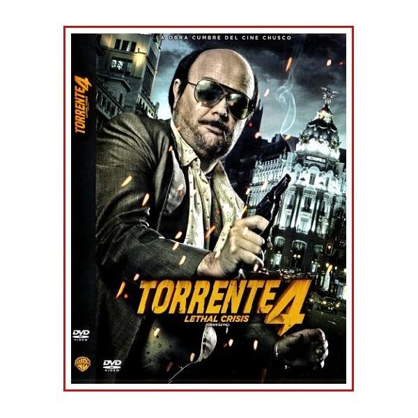 TORRENTE 4 LETHAL CRISIS (Crisis Letal) DVD 2011 Dirección Santiago Segura