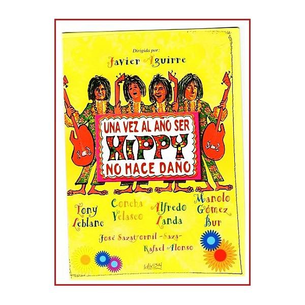 UNA VEZ AL AÑO SER HIPPY NO HACE DAÑO DVD 1969 Director Javier Aguirre