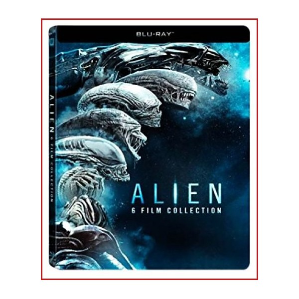 ALIEN PACK DE CINE DEL 1 AL 6 DVD-BLU RAY 2018 IMPRESCINDIBLE