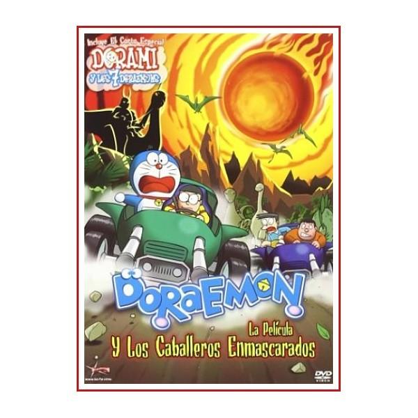 DORAEMON Y LOS CABALLEROS ENMASCARADOS DVD 2 DISCOS Dirección Tsutomu Shibayama