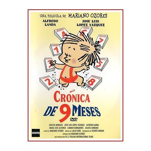 CRONICA DE 9 MESES DVD 1967 CINE ESPAÑOL Dirigida por Mariano Ozores