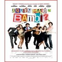 ¿QUIÉN MATÓ A BAMBI? DVD 2013 CINE ESPAÑOL Dirigida por Santi Amodeo