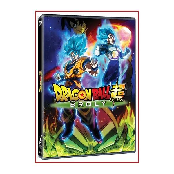 DRAGON BALL BROLY SUPER DVD 2018 Directores: Tatsuya Nagamine