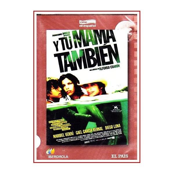 Y TU MAMA TAMBIÉN DVD 2001 CINE ESPAÑOL Dirigida por Alfonso Cuarón