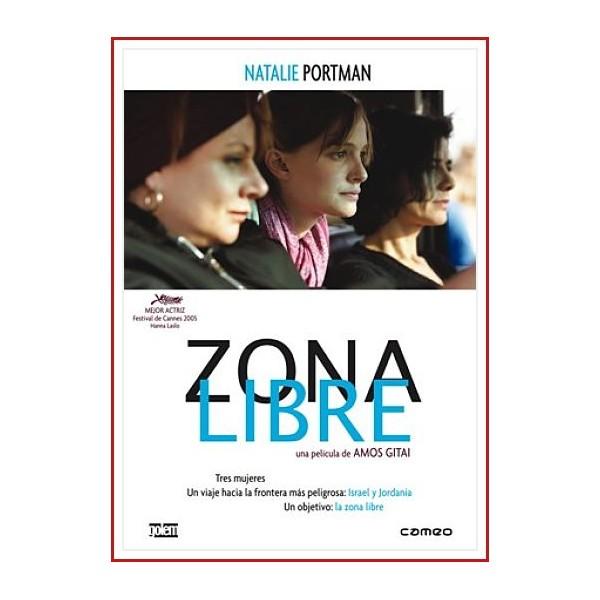ZONA LIBRE DVD 2005 Dirección Amos Gitai. Conflicto árabe-israelí