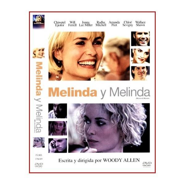 MELINDA Y MELINDA DVD 2004 Dirigida por Woody Allen