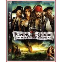 PIRATAS DEL CARIBE 4 EN MAREAS MISTERIOSAS DVD 2011 Dir. Rob Marshall