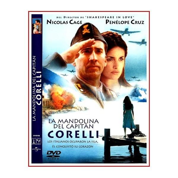 LA MANDOLINA DEL CAPITAN CORELLI DVD 2001 Dirigida por John Madden