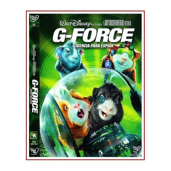 G-FORCE LICENCIA PARA ESPIAR DVD 2009 Dirigida por Hoyt Yeatman