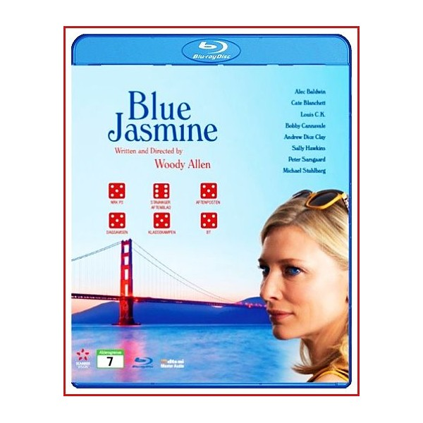 BLUE JASMINE BLU RAY