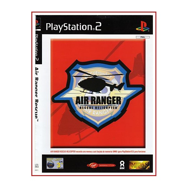 CARATULA AIR RANGER PS2