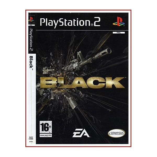 CARATULA BLACK PS2