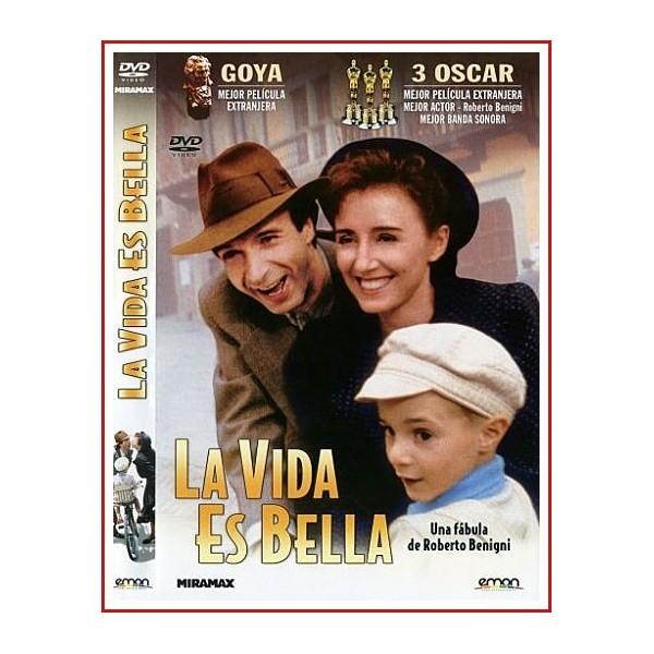 LA VIDA ES BELLA DVD 1997 Dirección Roberto Benigni