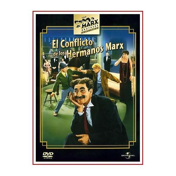 EL CONFLICTO DE LOS HERMANOS MARX DVD 1930 Dirigida por Victor Heerman