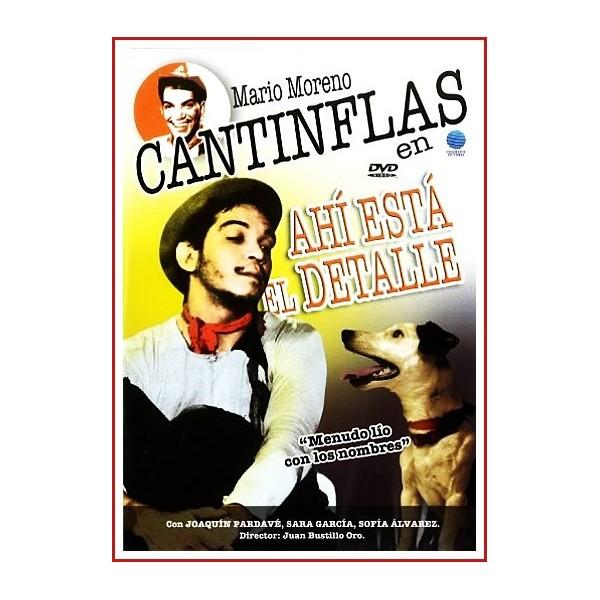 CANTINFLAS AHÍ ESTÁ EL DETALLE DVD 1940 Dirigida por Juan Bustillo Oro