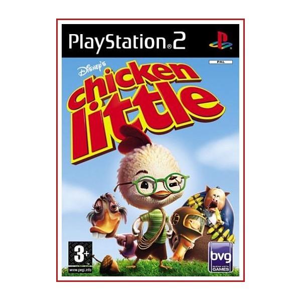 CARATULA PS2 CHICKEN LITTLE