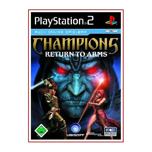 CARATULA PS2 CHAMPIONS RETURN TO ARMS