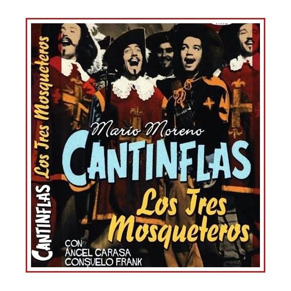 CANTINFLAS LOS TRES MOSQUETEROS DVD 1942 Director Miguel M. Delgado