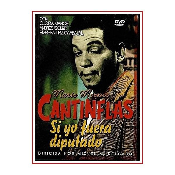 CANTINFLAS SI YO FUERA DIPUTADO DVD 1952 Director Miguel M. Delgado