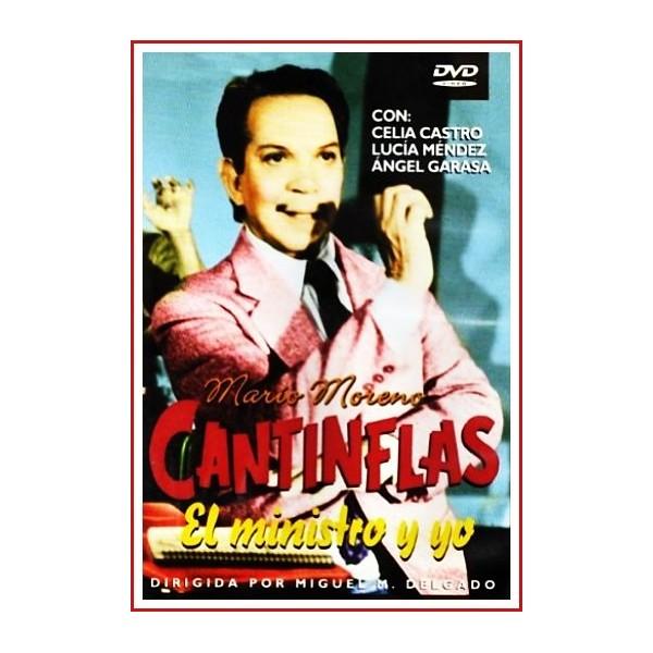 CCANTINFLAS EL MINISTRO Y YO DVD 1976 Dirigida por Miguel M. Delgado