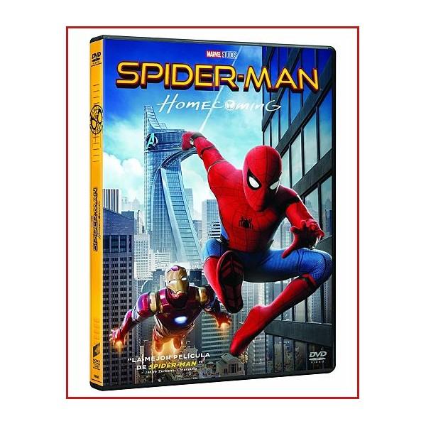 SPIDERMAN (HOMECOMING) DVD 2017 Dirigida por Jon Watts
