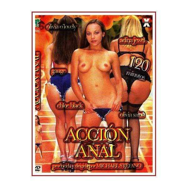 CARATULA DVD ACCIÓN ANAL
